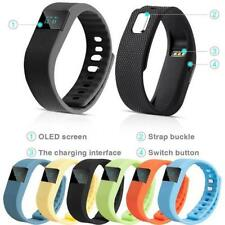 2016 Fit Watch Bit Exercise Fitness Smart Band Charge Flex 4 Android iPhone iOS