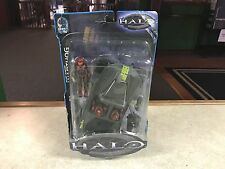 2003 Joyride Halo Series 4 WARTHOG Rocket Launcher Red Assault Squad Figure MOC