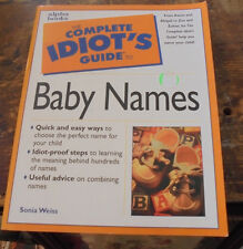 The Complete Idiot's Guide: The Complete Idiot's Guide to Baby Names book