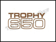 TRIUMPH TR6 ' TROPHY 650 ' TOOLBOX SIDEPANEL WATERSLIDE DECAL PN# TBS-S121
