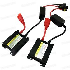 2Pcs Slim Waterproof Shockproof 35W AC HID Xenon Conversion Ballast Replacement