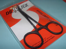 Dr Slick 5 inch Black Spring Creek Clamps Curved Hemostats Fly Fishing CCX5B