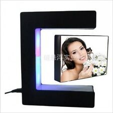 E-Magnetic Levitation Anti Gravity Floating Photo Picture Frame with LED Light