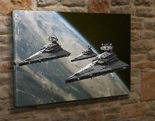 Large Canvas Wall Art Print Picture Star Wars Imperial Battle Cruisers HN07