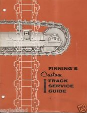 Equipment Brochure - Caterpillar Finning Crawler Track Service Guide 60's (E1480