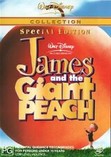 James And The Giant Peach 1996  -Region 2 Compatible DVD (UK seller!!!)  NEW