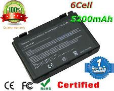New Battery ASUS K501 K50IN K70IJ K70IO X5DIJ-SX039c A32-F82 A32-F52 L0690L6 UK