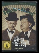DVD DICK & DOOF - DER WESTEN VON HOT DOG - STAN LAUREL & OLIVER HARDY - SPECIAL