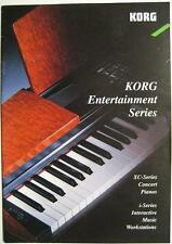 KORG ENTERTAINMENT SERIES XC CONCERT PIANOS  I SERIES INTERACTIVE - KATALOG