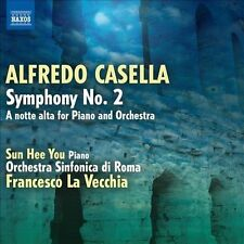 Casella: Symphony No. 2 - A notte alta for Piano and Orchestra, New Music