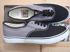 SKATEBOARD GREY/BLACK VISION STREET WEAR CANVAS trainers UK size 10