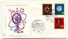1964 Sondermarken Deutschen Bundespost Fortschritt Technik Wissenschaft Bonn