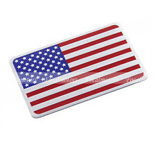 Car Aluminum 3D United States USA Flag Emblem Badge Truck Auto Decals Sticker 1p