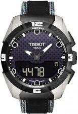 T0914204605101 Tissot T-Touch Expert Titanium Mens Watch Quartz 43mm Leather