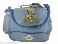 "F8CH01ASSR Precious Moments (BLUE) Lunch Bag 9"" x 8"""
