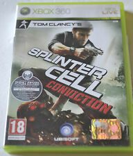(PRL) XBOX 360 LIVE GIOCO VIDEOGIOCO JEU PAL UBISOFT SPLINTER CELL CONVICTION