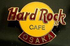 HRC Hard Rock Cafe Osaka Logo 3LC HRC back