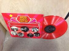 Red Hot Hits! LP RED VINYL UK Pye Records Barry White TRAMMPS Gladys Knight