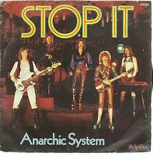 45 TOURS /  ANARCHIC SYSTEM     STOP  IT    /A