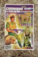 GI JOE Estrela Comandos Em Acao Urzor MOC Brazil 1983 forca fera rare