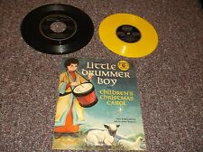 3 Golden Children's Records Little Drummer Boy w/PS Easter Parade Do Re Mi