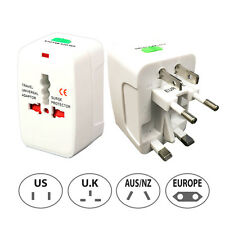Universal International AC Outlet Power Plug World Travel Adapter Converter