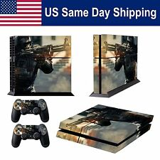 Mod skin Decals for Sony PS4 Playstation 4 Console & 2 Controller Sticker