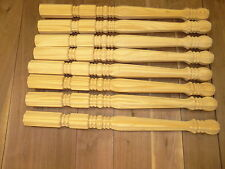 """M   8-  28"""" SOLID PINE ROYAL STYLE  TABLE FURNITURE LEGS WOOD WOODEN"""