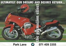 BMW Motorcycles (Motorrad)  - Original 1993 Vintage Magazine Advert - Park Lane