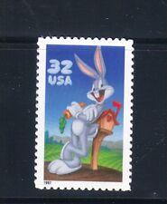 U.S.  #3138a 1997 32 Cent Bugs Bunny Single  MNH Superb Multicolored SCV $3.50