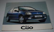 Betriebsanleitung Handbuch Renault Clio I Typ 57 Bedienungsanleitung 06/1996!