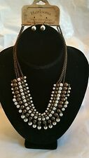 Heirlooms by Victoria Leland Designs, Necklace and Earrings, Imitation Pearls