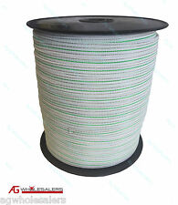 POLY TAPE 400M X 12MM - LOWEST RESISTANCE AVAILABLE ELECTRIC FENCE POLYTAPE WIRE