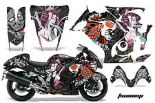 Graphic Kit Suzuki GSXR Amr Racing 1300 Hayabusa Parts Bike Decal Wrap TSUNAMI B