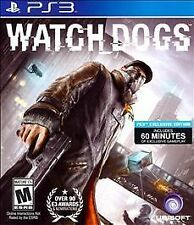 Watch Dogs - SONY Playstation 3 PS3 Action / Adventure Game