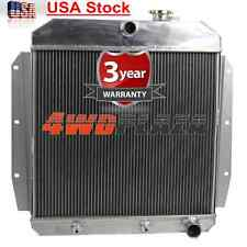 3 ROW Alloy RADIATOR FOR 1955-1959 CHEVY TRUCK GMC 1956 1957 1958 56 57 58 59 55