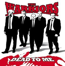 "THE WARRIORS Dead To Me 7"" RED VINYL Punk Oi! NEW Last Resort"
