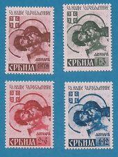 WKII Serbien  Nr. 54-57  AI  kpl.   **   !!