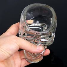 Crystal Skull Head Vodka Whiskey Shot Glass Cup Drinking Ware Home Bar