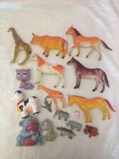 Stock di 17 Animali Varie Dimensioni - Alcuni per Barbie altri no - Usati