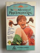 THE NEW ADVENTURES OF PIPPI LONGSTOCKING ~ AS NEW VHS VIDEO