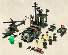 War Military CombatZones Scene Posts By Surprise building fit toy lego in bags .