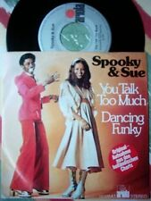 "SPOOKY & SUE - You Talk Too Much / 7""SINGLE"