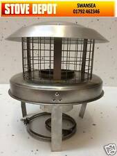 """6""""  Stainless Steel  CHIMNEY POT HANGER HANGING COWL COWLS"""