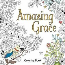Amazing Grace Adult Coloring Book Coloring Faith