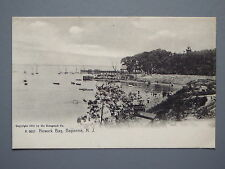R&L Postcard: Early Undividen Back of Newark Bay Bayonne New Jersey USA