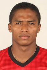 Football Photo ANTONIO VALENCIA Man Utd 2012-2013