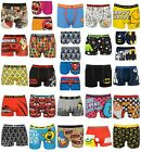 Mens Character Boxer Shorts Cartoon Superhero Novelty Underwear S M L XL XXL