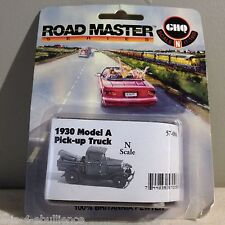 GHQ Road Master Series 1930 Model A Pick Up Truck N Scale