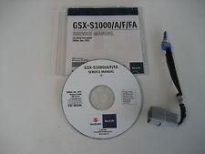 SUZUKI GSX-S 1000 + ABS DIAGNOSE REPARATUR CD WERKSTATT HANDBUCH SERVICE MANUAL
